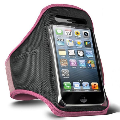 iPhone 5 5S 5C Sports Armband Case Cover - Pink