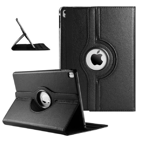 "Black iPad Pro 10.5"" 2017 360 Degree Magnetic Slim Rotating Case - 1"