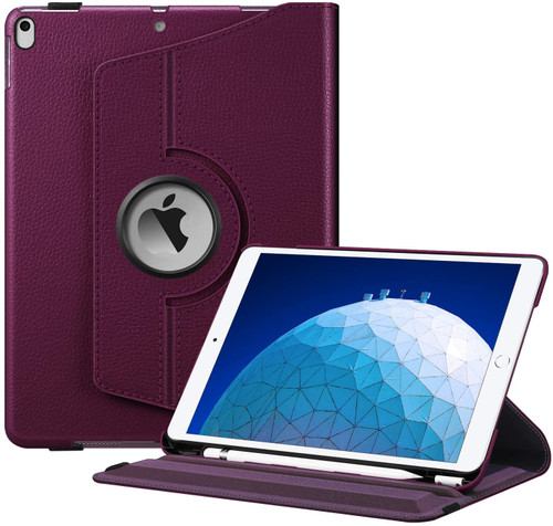 "Purple 360 Degree Rotating Stand Case for iPad Pro 10.5"" 2017"