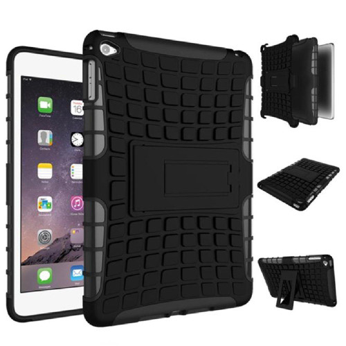 "Black iPad Pro 10.5"" 2017 High Quality Hybrid Kickstand Protective Smart Cover - 1"