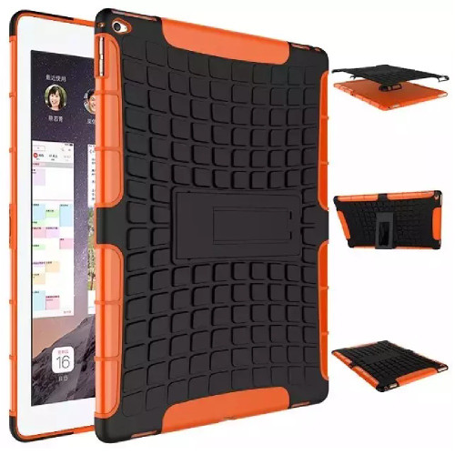 "Orange Rugged Hybrid Slim Stand Cover Case for iPad Pro 10.5"" 2017 - 1"
