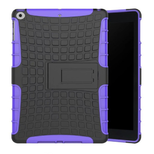 "Purple iPad Pro 10.5"" 2017 Heavy Duty Kickstand Shockproof Hybrid Protective Case Cover - 1"