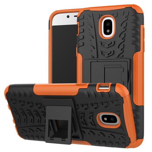 Orange Samsung Galaxy J5 Pro (2017) Builders / Tradies Kickstand Case