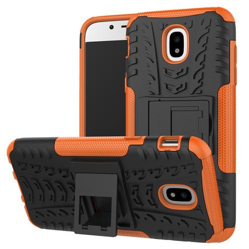 Orange Samsung Galaxy J5 Pro (2017) Builders / Tradies Kickstand Case