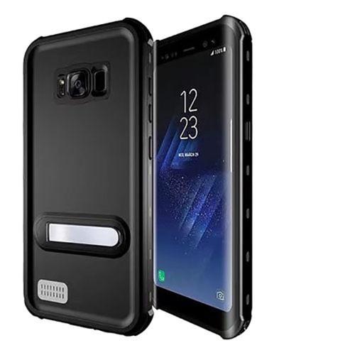 Black Samsung Galaxy S8 Waterproof Dirtproof Shock Proof Case - 1
