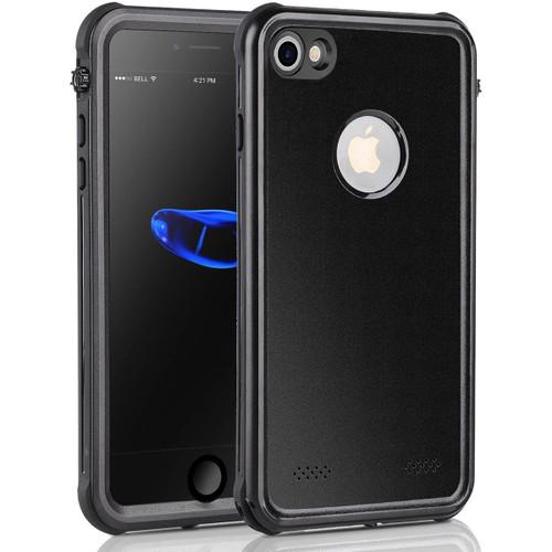 Apple iPhone 7 Waterproof Dirtproof Heavy Duty Case Cover - Black - 1