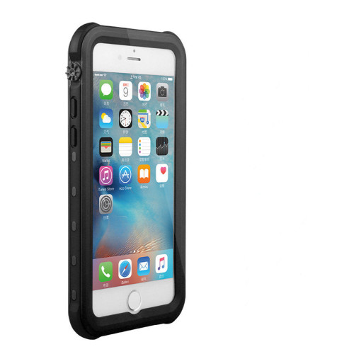 Black Waterproof Dirtproof  Shock Proof Case For iPhone 7 Plus /  8 Plus - 1