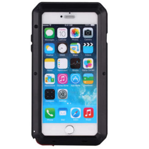 Apple iPhone X Water Resistant Shockproof Heavy Duty Smart Case Cover - Black  - 1