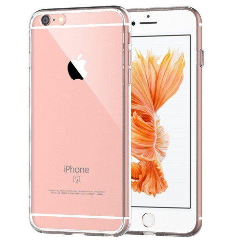 Apple iPhone X Soft TPU Protective Smart Case Cover Crystal Clear Gel - 1