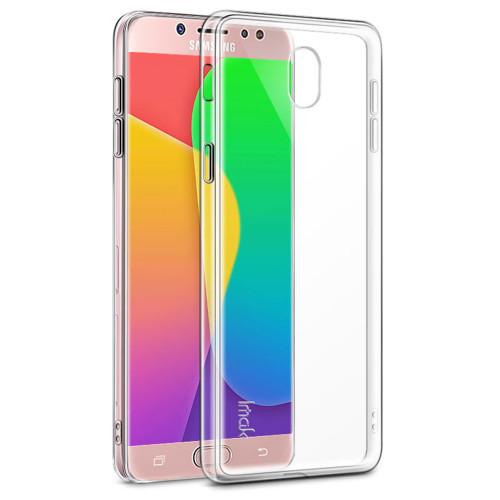 Samsung Galaxy J7 Pro (2017) Clear Ultra Slim TPU Soft Gel Case