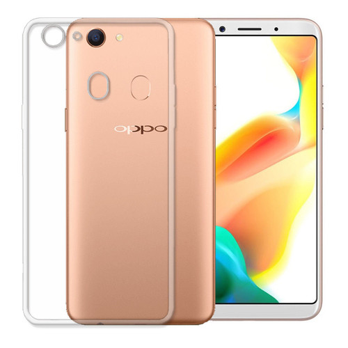 Ultra Slim Shockproof Soft Gel Clear Case Cover For Oppo A73