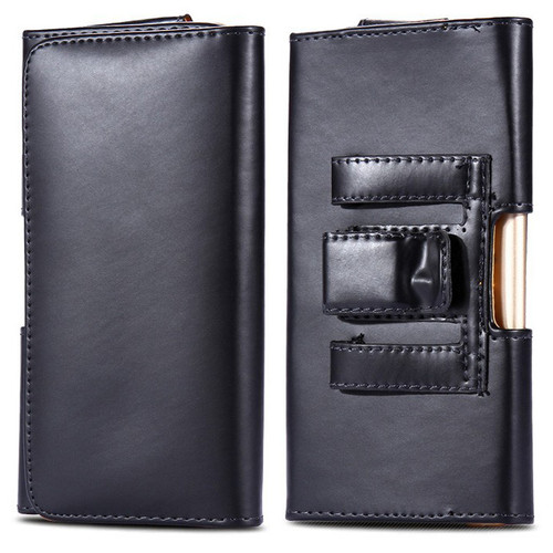 Premium Leather Belt Clip Pouch Holster Case for Galaxy S7 / S7 Edge  - 1