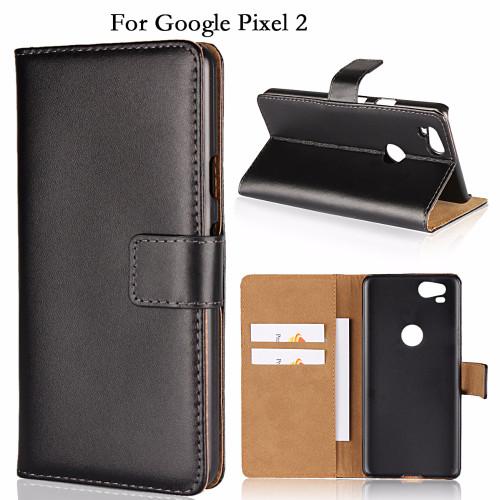 Google Pixel 2 Genuine Leather Business Wallet Case Details-1