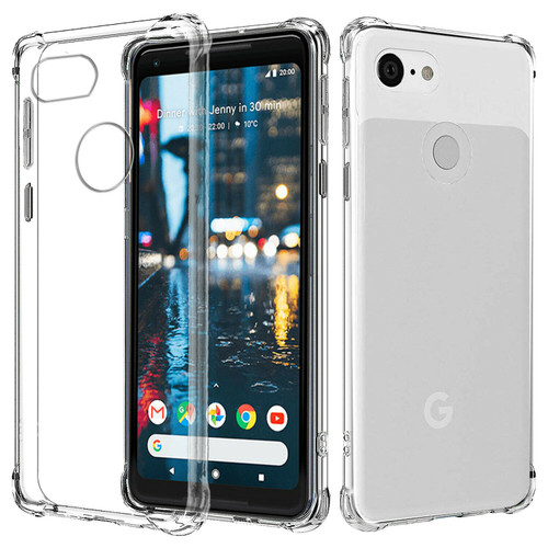 Google Pixel 2 Shock proof Flexible Air Cushion TPU Soft Gel Case
