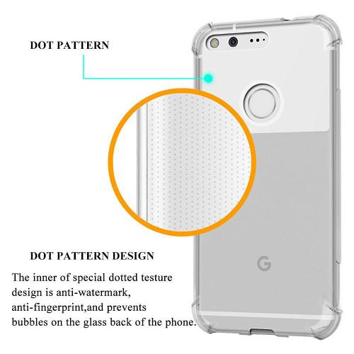 Google Pixel 2 XL Shock proof Flexible Air Cushion TPU Soft Gel Case