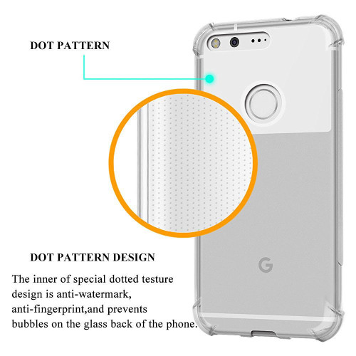 Google Pixel 2 XL Shock proof Flexible Air Cushion TPU Soft Gel Case