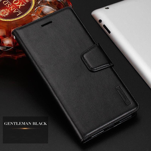 Black Luxury Hanman Leather Wallet Flip Case Cover For Apple iPhone XS
