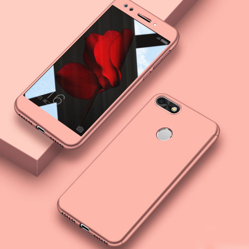 Rose Gold Oppo A73 / F5 Full Body Coverage 360 Degree Protection Case - 1