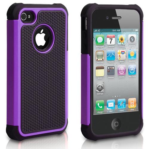 iPhone 5C Defender Case Cover - Purple