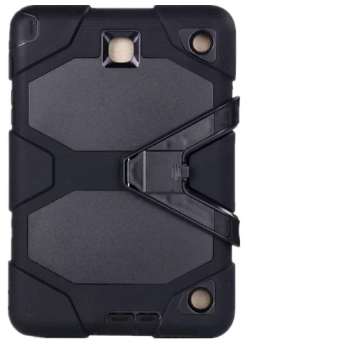 Black Military Armor Case for Samsung Galaxy Tab A 8.0 (2017) - 1