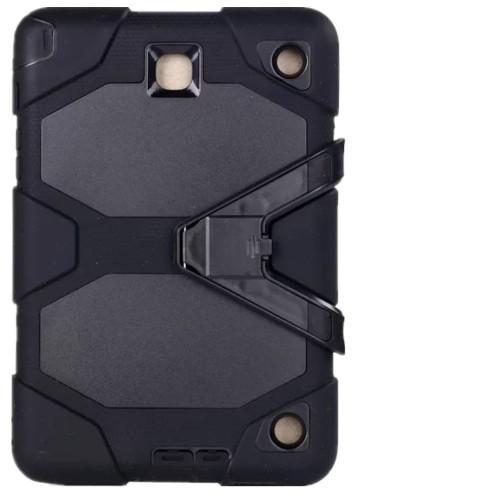 Black Military Armor Case for Samsung Galaxy Tab A 8.0 (2017) - 1