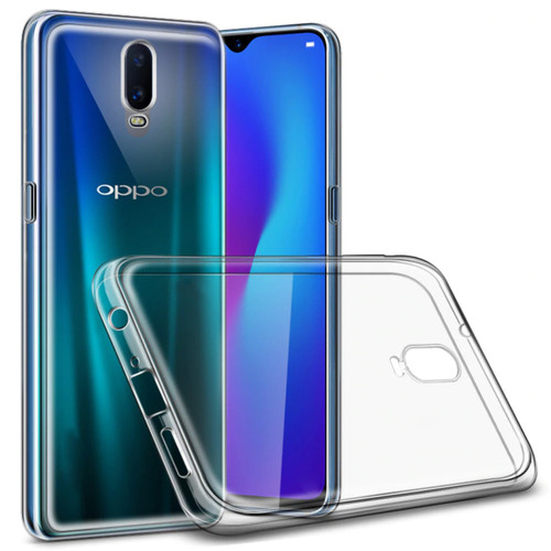 Clear Ultra Slim Soft Gel Case Cover Protector For Oppo R17 - 1