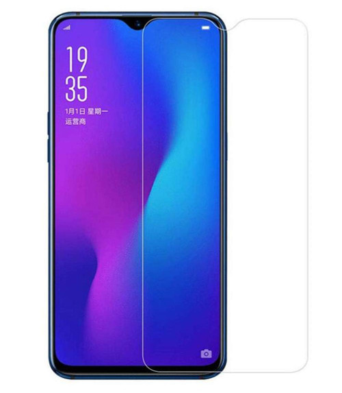 Oppo A3S / AX5 Tempered Glass 2.5D 9H Pro Screen Protector - Clear - 1