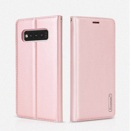 Rose Gold Hanman Wallet Case For Samsung Galaxy S10 5G - 1