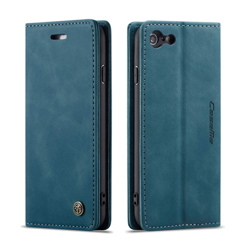 Premium iPhone 5 / 5S CaseMe Slim Magnetic Wallet Case - Blue - 1