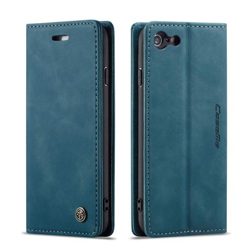 Premium iPhone 5 / 5S CaseMe Slim Magnetic Wallet Case - Blue - 1