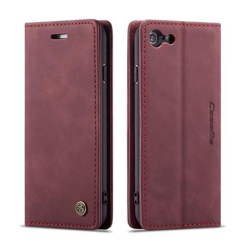 Wine CaseMe Compact Flip Business Wallet Case For iPhone 5 / 5S / SE - 1