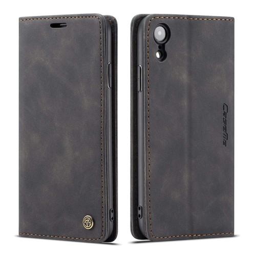 Elegant iPhone XR CaseMe Compact Flip Wallet Case - Black - 1
