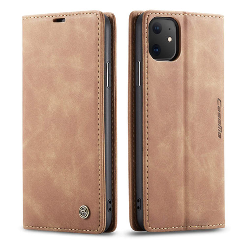 Vintage Brown CaseMe Slim Soft Wallet Case Cover For iPhone 11 - 1