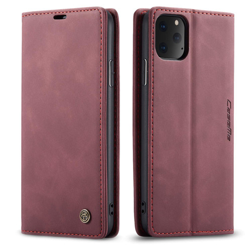 Classy Wine CaseMe Slim Soft Wallet Case Cover For iPhone 11 - 1