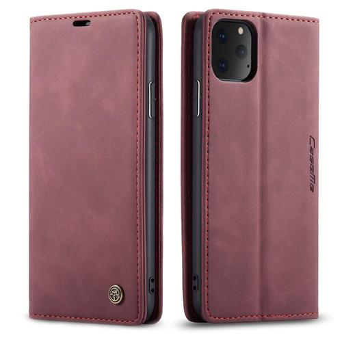 Classy Wine iPhone 11 Pro CaseMe Slim Soft Textured Wallet Case - 1