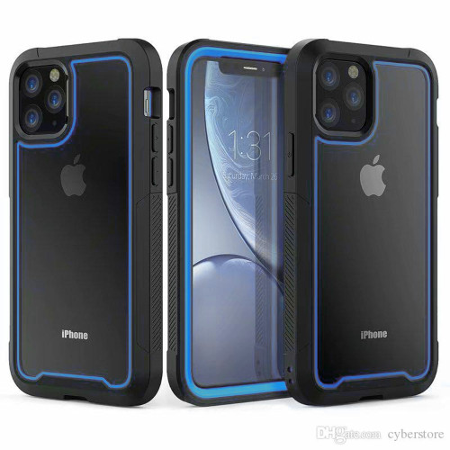 Blue iPhone 11 Shock Proof Triple Layer Military Armor Case - 1