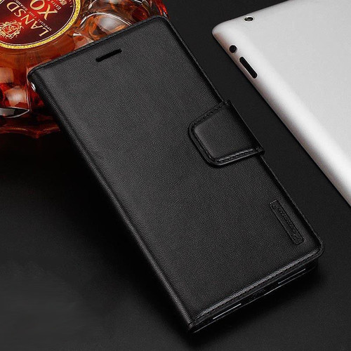 Black Luxury Hanman Leather Wallet Flip Case Cover For Apple iPhone XS Max