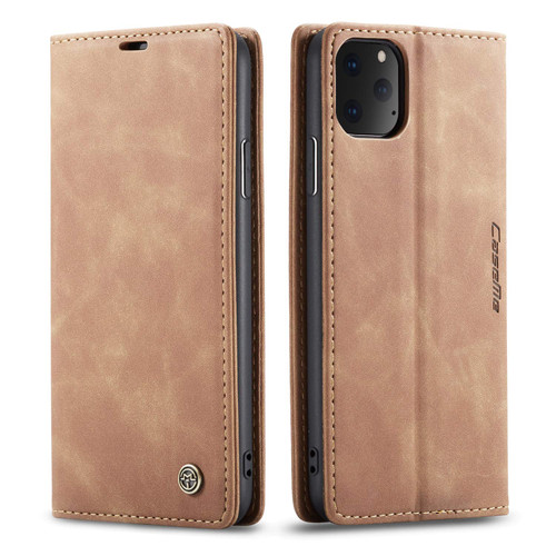 Vintage Brown iPhone 11 Pro CaseMe Slim Soft Wallet Case Cover - 1