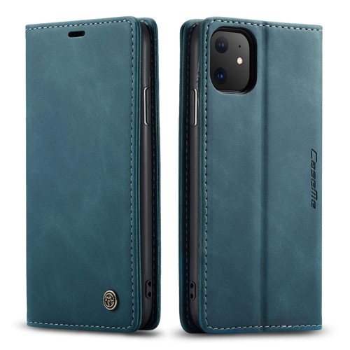 Stylish Blue iPhone 11 Pro CaseMe Slim Soft Textured Wallet Case - 1