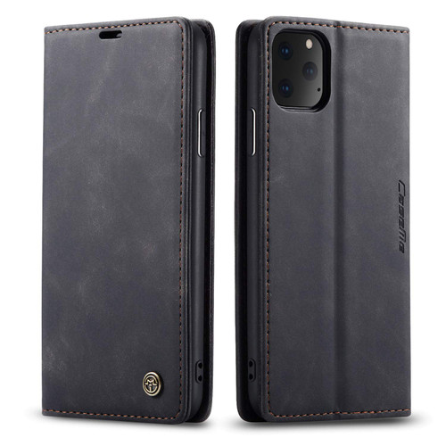 Premium Black CaseMe Slim Soft Wallet Case Cover For iPhone 11 Pro - 1