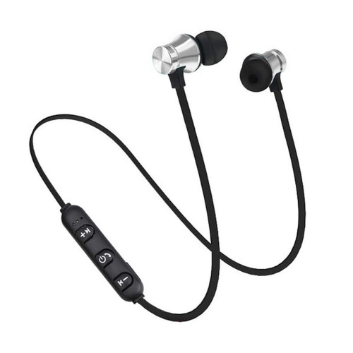 Sports Magnetic XT11 Bluetooth Wireless In-Ear Headphones with Mic - 1