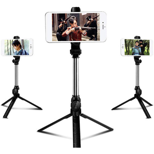 XT10 Bluetooth Tripod Selfie Stick Telescopic Bracket Multi-Function