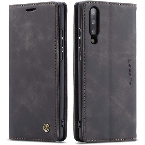 Black Galaxy A50 CaseMe Compact Flip Exceptional Wallet Case Cover - 1