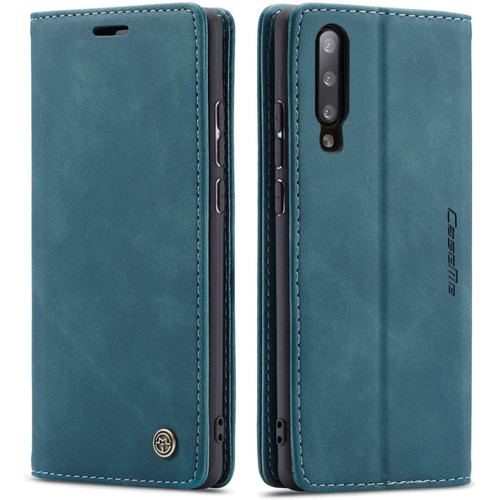 Blue Galaxy A50 CaseMe Compact Flip Soft Feel Wallet Case Cover - 1