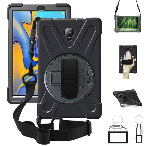 Samsung Galaxy Tab A 10.5 Shock Proof Hybrid Shoulder Strap Case - 1