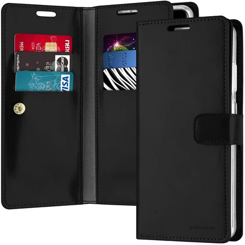 Black Genuine Mercury Mansoor Wallet Case For Galaxy S20 Ultra - 1