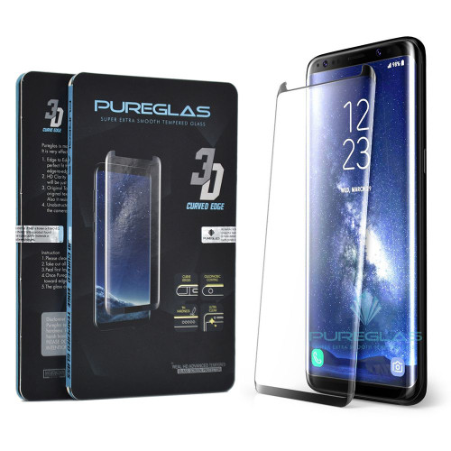Galaxy S8 PUREGLAS Full Cover Tempered Glass Screen Protector - 1