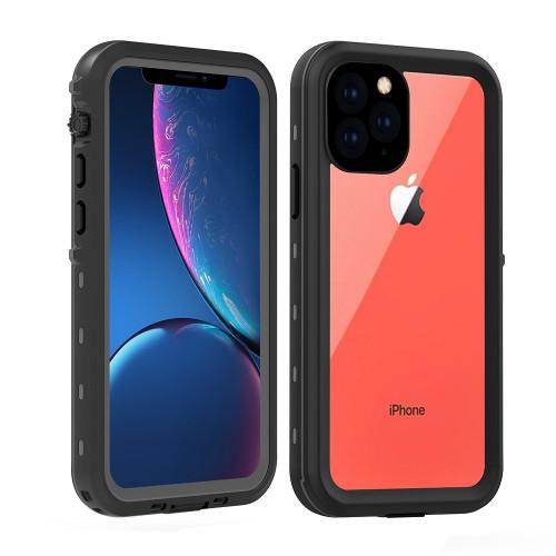 Black iPhone 11 Pro Waterproof Dirtproof Shock Proof Case - 1