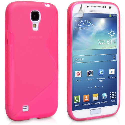 Samsung Galaxy S4 Hot Pink S-Line Curve Case