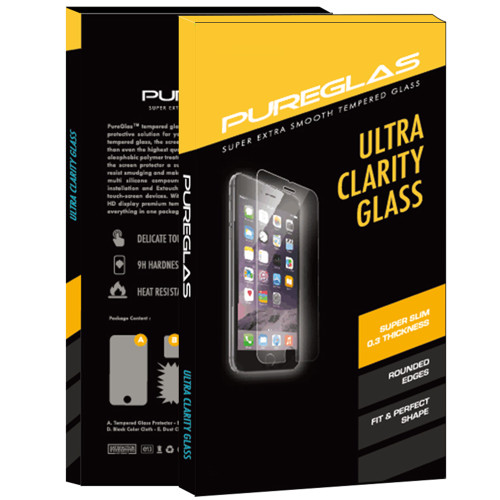 iPhone SE 2020 PUREGLAS 2.5D Tempered Glass Screen Protector - 1
